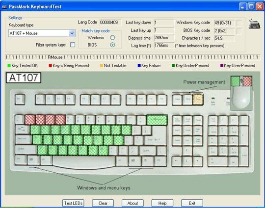 программа для проверки клавиатуры скачать