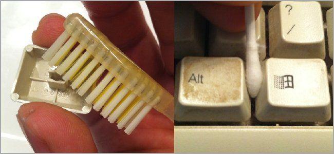 как почистить клавиатуру